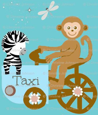 Funday taxi / monkey