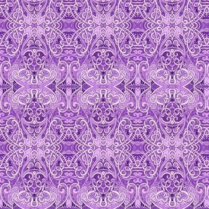 Everything is Coming Up Lavender (a royal and elegant abstract)