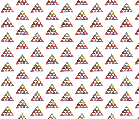 pyramids fabric by kelly_tucker on Spoonflower - custom fabric