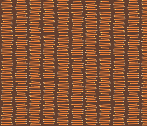 Pencils fabric by laurawilson on Spoonflower - custom fabric
