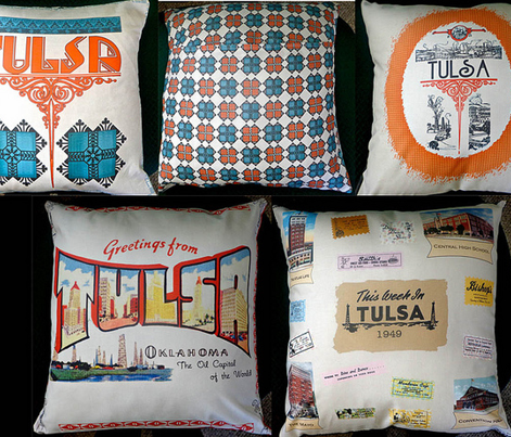 4 Tulsa Pillows