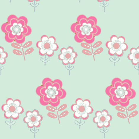 Funday bloom fabric by paragonstudios on Spoonflower - custom fabric