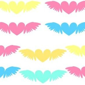 Heart Wings! - Beachy Vibes  - © PinkSodaPop 4ComputerHeaven.com