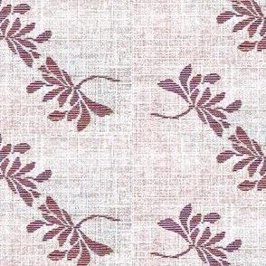 Twin Lotus- plum wine/white