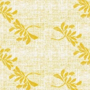 Twin Lotus- yellow/white