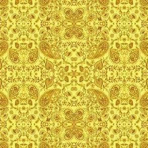 Paisley11-yellow/brown