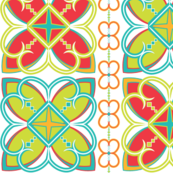 Asian Patterns Bright