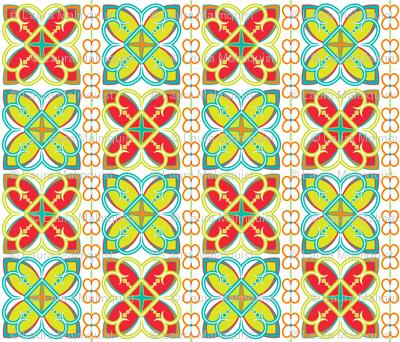 Asian Pattern Bright