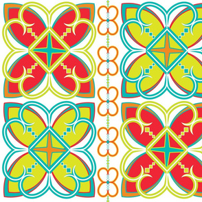 Asian Pattern Bright
