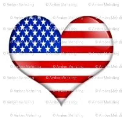 I heart the USA