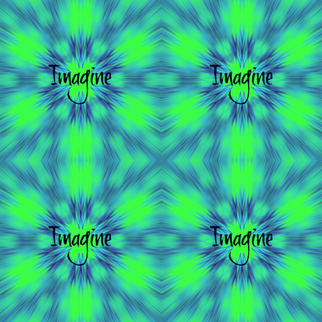 IMAGINE fabric by dovetail_designs on Spoonflower - custom fabric
