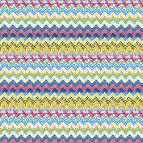 Quilt chevron pattern - mezzime - Spoonflower