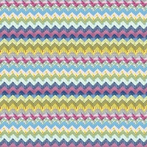 Quilt chevron pattern