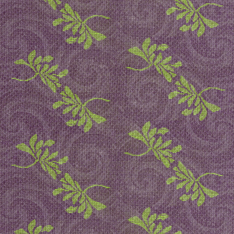 twin_lotus_and_purple_swirls_2-ed fabric by materialsgirl on Spoonflower - custom fabric