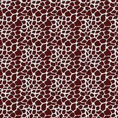 Giraffe love - can you see the heart? Brown tones