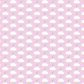 Yummy colourful rain pink