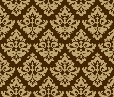 katia_damask_11 fabric by juneblossom on Spoonflower - custom fabric