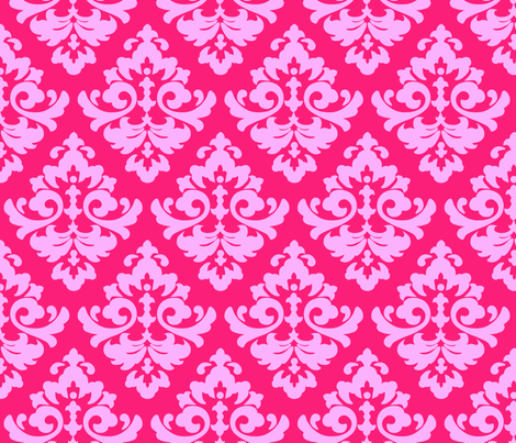 katia_damask_14 fabric by juneblossom on Spoonflower - custom fabric