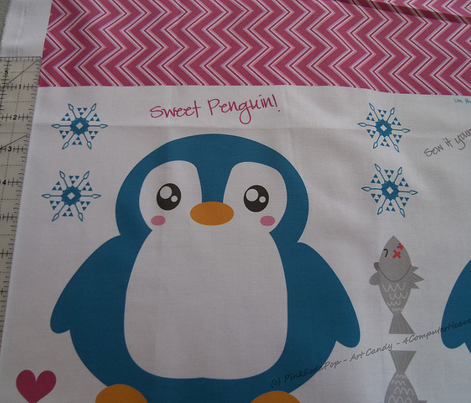 Sweet Penguin! - Sew It Yourself Kit  - © PinkSodaPop 4ComputerHeaven.com