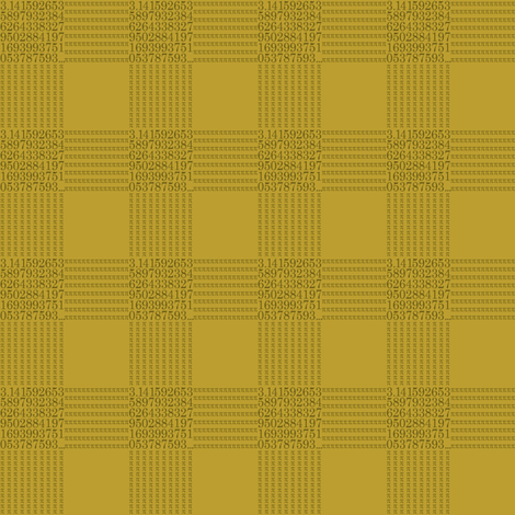 pi are square (bronze and gold) fabric by weavingmajor on Spoonflower - custom fabric