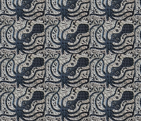 Big Octopi fabric by nancy_martino on Spoonflower - custom fabric