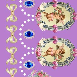 cherub angel egl gothic lolita victorian baroque rococo antoinette border
