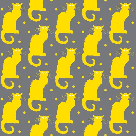 Rrrrle_chat_polka_dot_grey_yellow_shop_preview