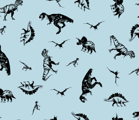 Dinosaurs BCDAE4 fabric by candyjoyce on Spoonflower - custom fabric