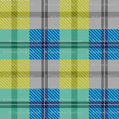 gingham plaid kelp beds