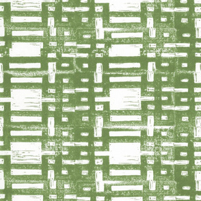 Grid carving green