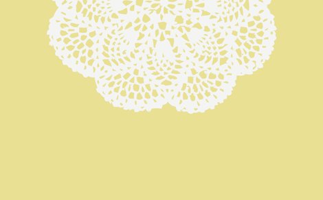daily doily fabric by myracle on Spoonflower - custom fabric