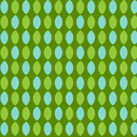 Leaves fabric by natitys on Spoonflower - custom fabric
