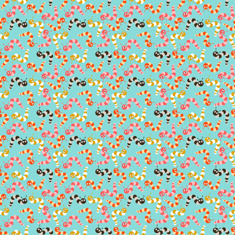 Baby Caterpillars fabric by natitys on Spoonflower - custom fabric