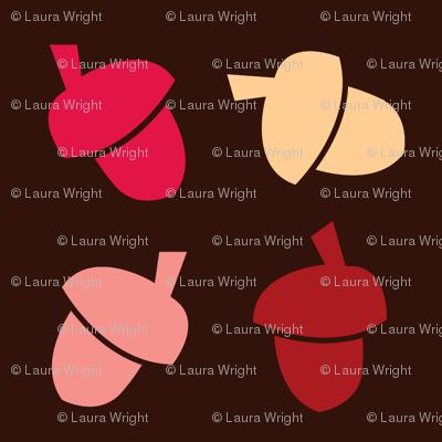 acorns pink