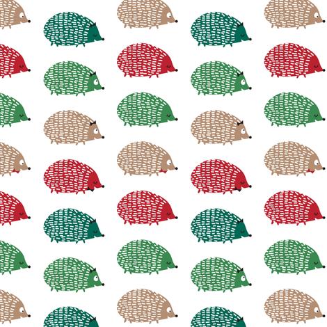 christmas critters fabric by laurawrightstudio on Spoonflower - custom fabric