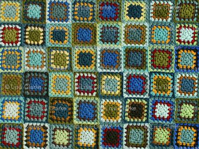 Flufy's Granny Square Blanket