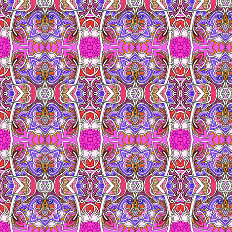Raspberry Sunday fabric by edsel2084 on Spoonflower - custom fabric