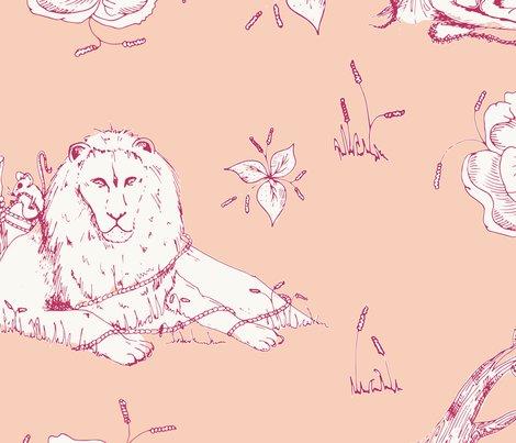 Lion_mouse_toile_peach_shop_preview