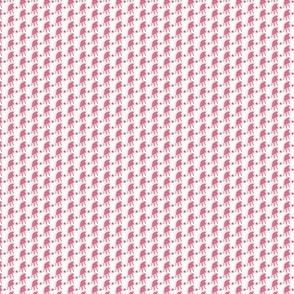 Pink Dog with Ball 5x5