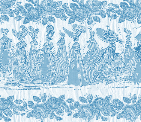 Jane Austin Says Border Print