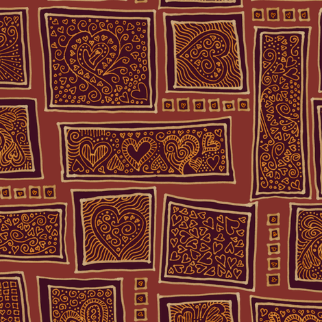 golden age of romance fabric by weavingmajor on Spoonflower - custom fabric