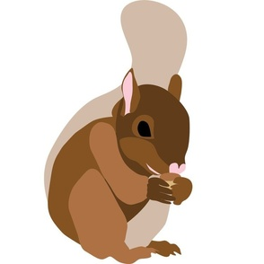 Baby Squirrel 15x15