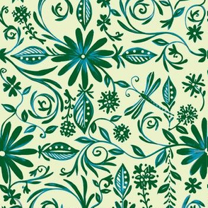 fiddleheads-batik