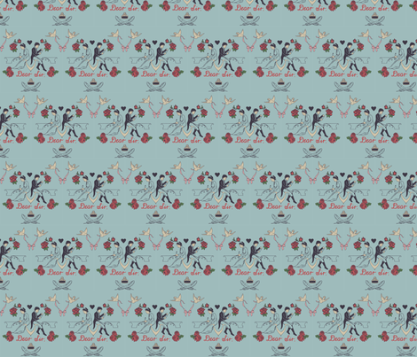 Dear Sir, fabric by allywe on Spoonflower - custom fabric
