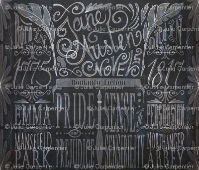 Jane Austen's ChalkBoard