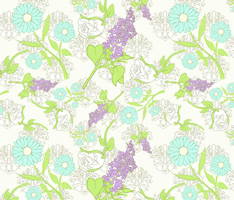 jane_austen_fabric fabric by samantha_weyant on Spoonflower - custom fabric
