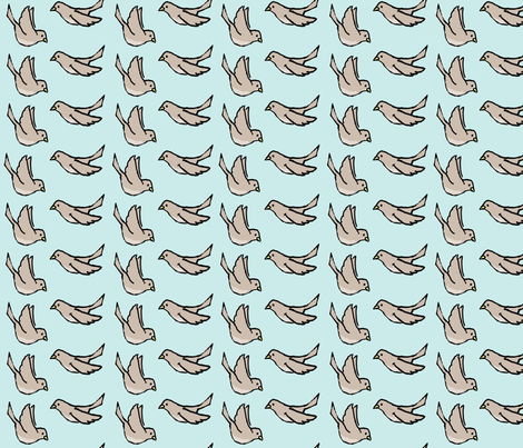 fling flight fabric by doodleandhoob on Spoonflower - custom fabric