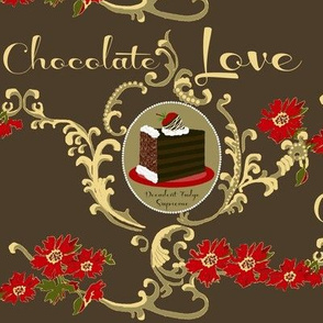 Chocolate Love / cake