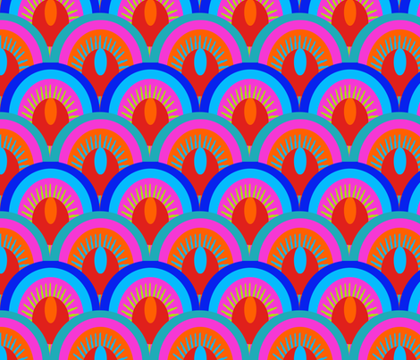 ecailles_multico_M fabric by nadja_petremand on Spoonflower - custom fabric