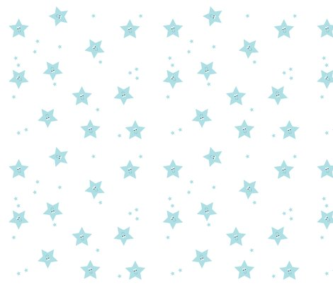 Happy_stars_blue_fabric_shop_preview